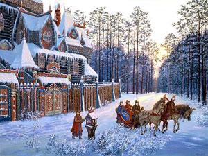Comemoração do ano novo após do batismo da Rus Kievana