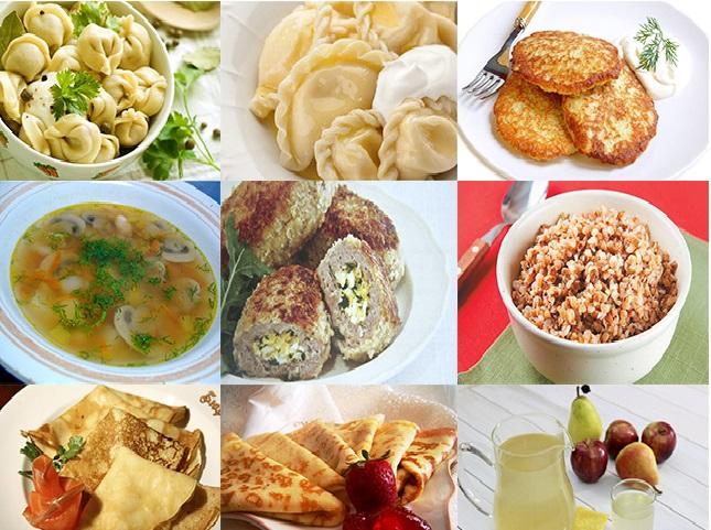comida russa