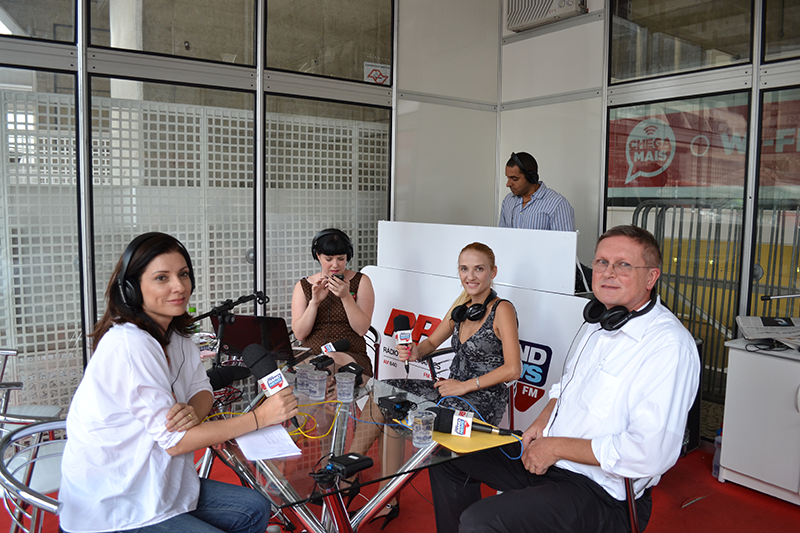 Entrevista no Band News com Snizhana Maznova