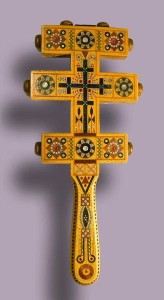 Cruz dos Hutsuls com símbolos solares, 1922