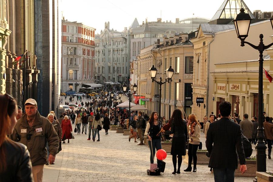 2015, rua de Moscou
